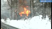 Man missing after home explosion, fire