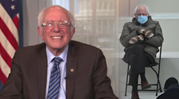 Bernie Sanders Says Mitten Maker Overwhelmed By All The Attention His Inaugural Meme Has Created