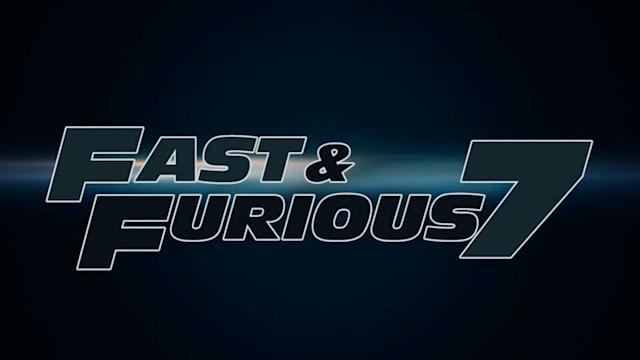 'FAST & FURIOUS 7' SHOOTING AGAIN