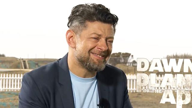 Andy Serkis Talks Apes, Avengers & Star Wars!
