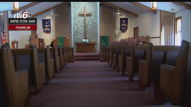 PD: Donations stolen from Indy church