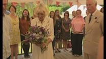 Charles and Camilla visit River Cottage
