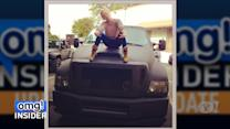 Pint-Size Hayden Panettiere Takes on Gigantic SUV
