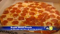 The calories behind the Super Bowl