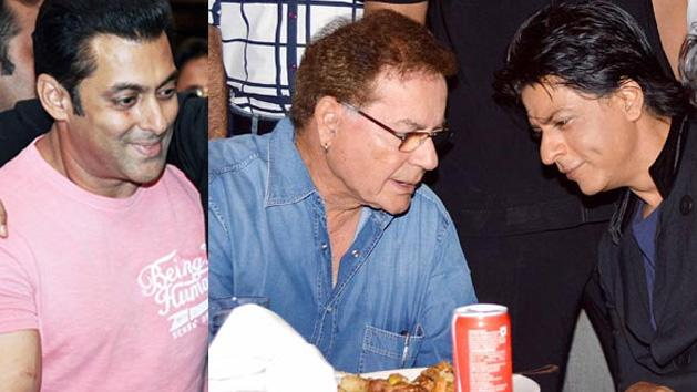 Salman And Shahrukh Are Rivals Says Salim Khan