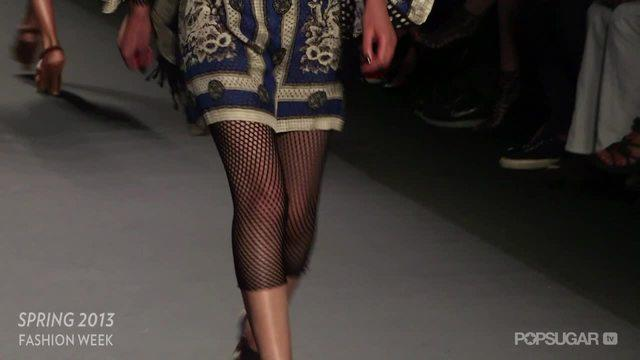 Karlie Kloss is Clearly the Star of Anna Sui's Rocker-Cool Runway Show