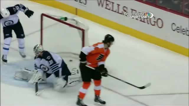 Sean Couturier tallies shorthanded goal