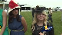Hats abound at Preakness