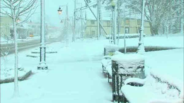Stormwatch 7: Rockland County snow