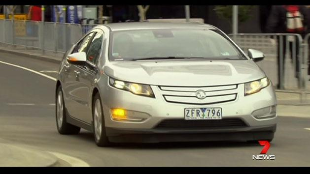 Holden's Volt on the market