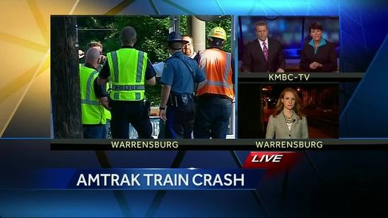 Woman, toddler injured when Amtrak train hits SUV