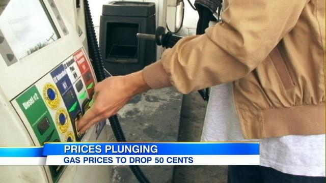Gas Prices Falling: Could Drop as Much as 50 Cents a Gallon