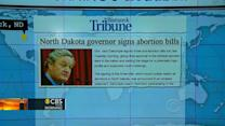 Headlines: N.D. now has toughest abortion laws in U.S.