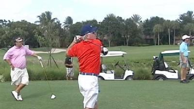 For Love Of Country: Baseball Player Trades In Bat For Golf Club