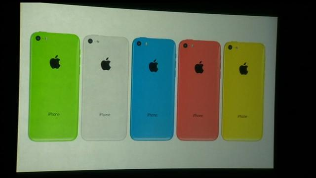 New low-cost iPhone unveiled, starts at $99 with contract