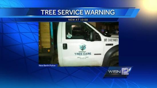Police warn of fake tree trimmers