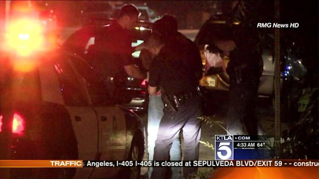 Man Detained After 6 Fires in Sherman Oaks