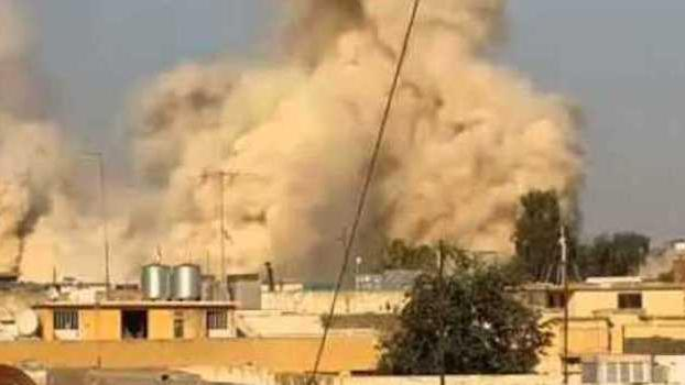 Islamic State destroys the Tomb of Jonah