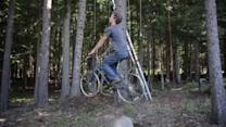 The Bicycle-Powered Treehouse Elevator