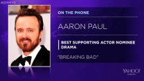 Aaron Paul on his Emmy Nomination