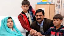 Malala's father, doctor say she's doing better