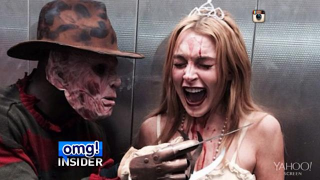 Did Lindsay Lohan Drink at Her Halloween Party?