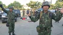 Thai soldiers confiscate weapons after army declares coup