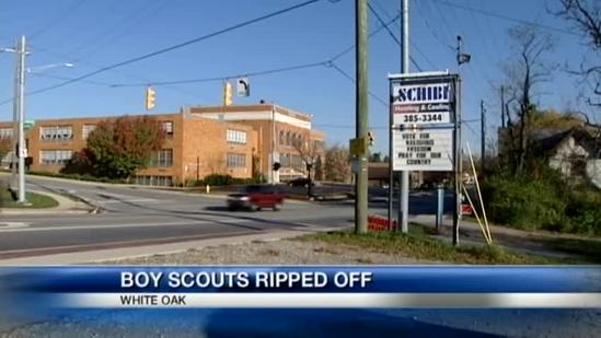 Scout troop hopes someone knows who stole trailer
