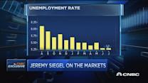 Unemployment rate critical for Fed: Siegel