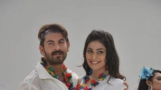 Neil Nitin Mukesh & Puja Gupta Shooting For 'Shortcut Romeo' Song
