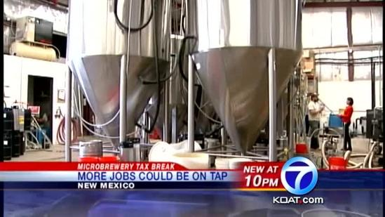 Senate votes to cut tax on microbreweries