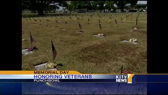 Scouts honor fallen at Punchbowl