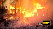 Across America: Flames rip through mountainside resort