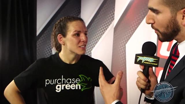 Alexis Davis thought she was close to finishing Rosi Sexton, but agrees with Herb Dean's call not to stop the fight