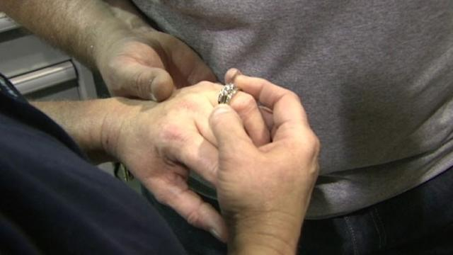 Wedding Ring Lost in Chicago, Turns Up in Arkansas