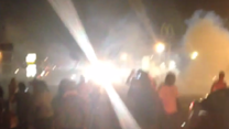 Police Fire Tear Gas to Disperse New Ferguson Protests