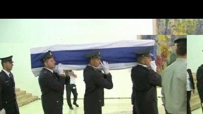 Israelis pay respect to former PM Shamir