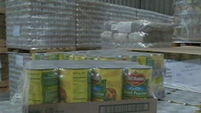 Food Bank Struggles To Feed The Hungry