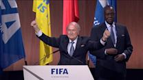 FIFA president Sepp Blatter re-elected amid investigation