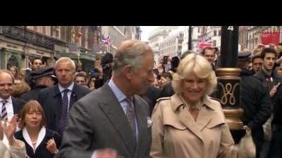 UK royals party in street for Queen's Jubilee