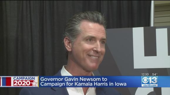 California Governor Pardon List 2020.California Gov Newsom To Campaign In Iowa For Kamala Harris