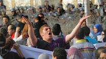 Protests break out on 2nd anniversary of Egyptian uprising