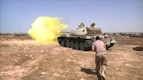 Libyan forces battle Islamic State in Sirte