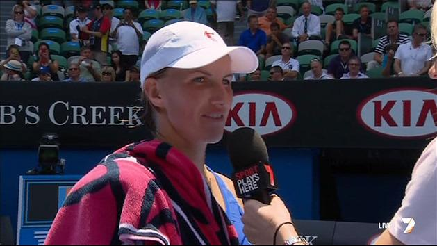 Post Match Interview: Svetlana Kuznetsova