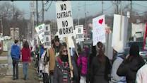 Noon: Strongsville strike day 2