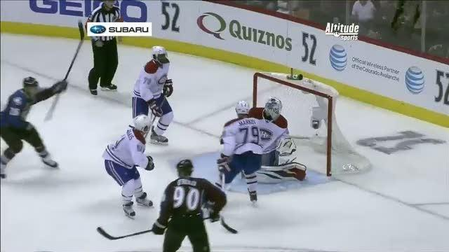 Ryan O'Reilly takes it himself for the score