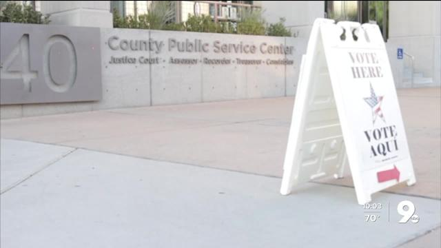 Emergency Voting Will Be On Saturday And Monday In Pima County