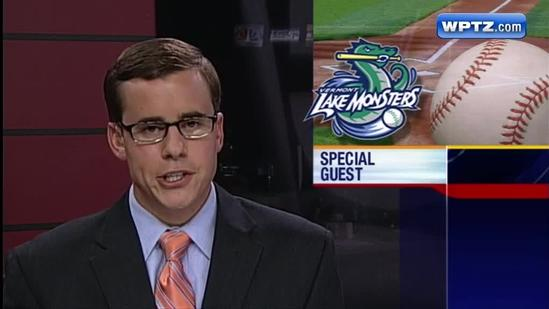 Tiki Barber guest stars as Lake Monsters earn sweep over Tri-City