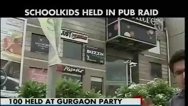 Over 100 school students detained for drinking, smoking hookah at Gurgaon pub