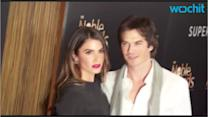 Nikki Reed and Ian Somerhalder Can't Stop Kissing Each Other in New Wedding Day Video